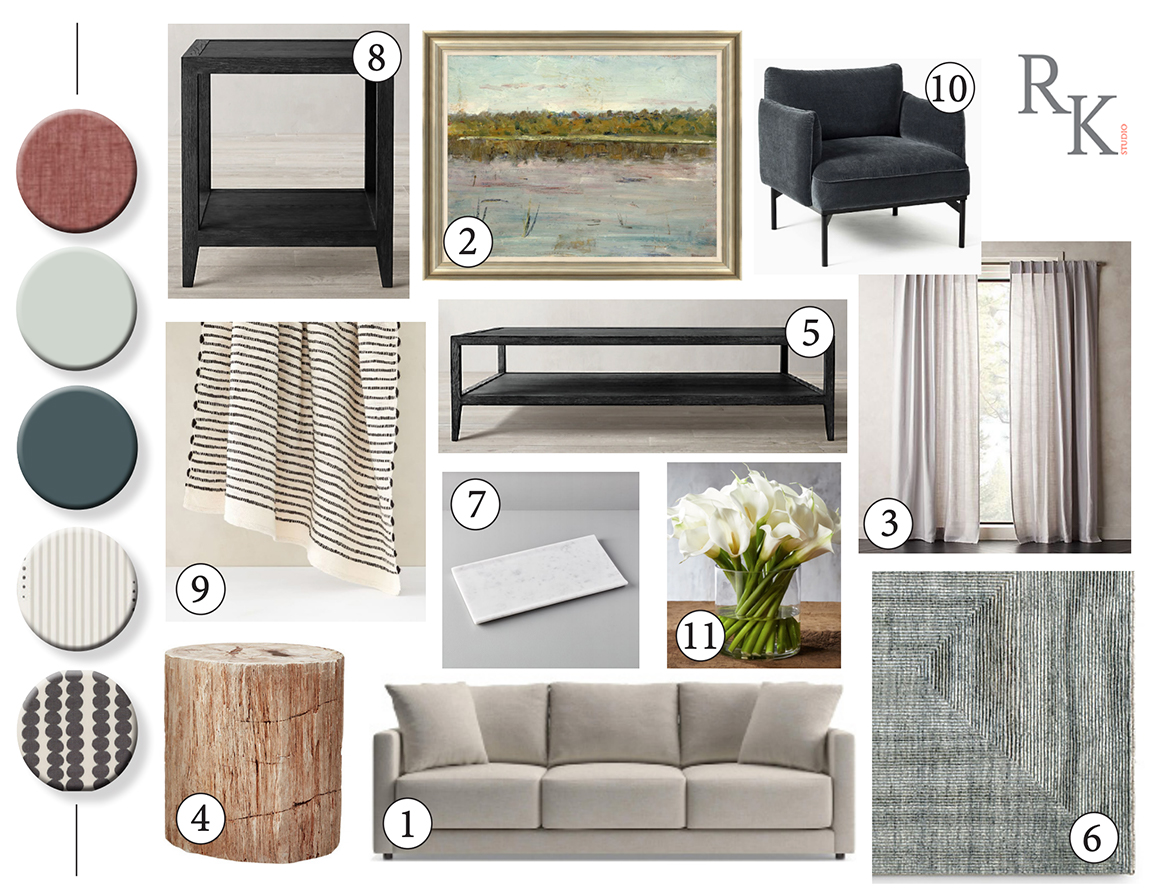Furniture Layout for Renae Keller Interior Design E-Design