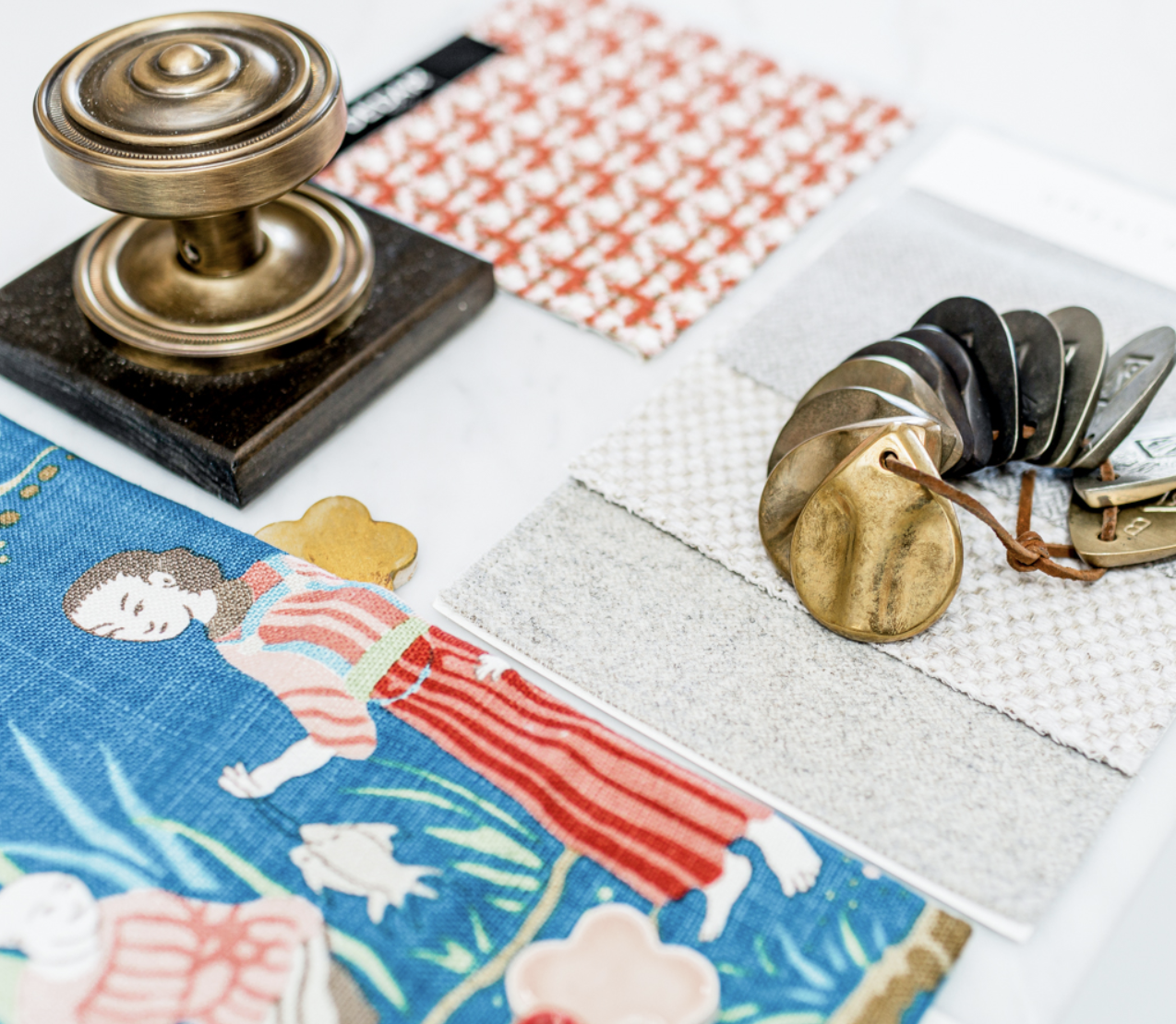 fabric and hardware selections