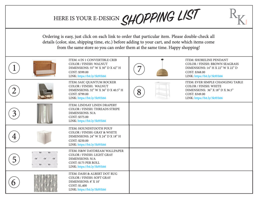 Shopping List_