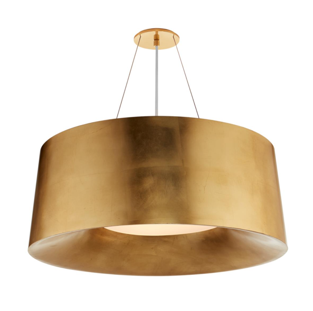 drum light - gold