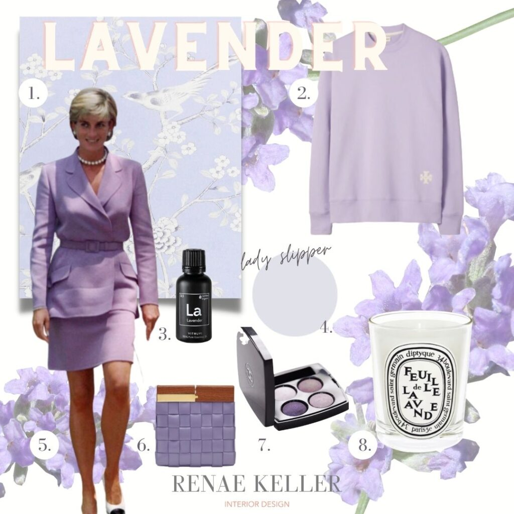 lavender candle eyeshadow clutch wallpaper